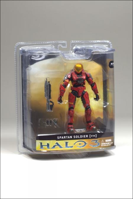 Spartan Soldier Halo 3, EVA, red
