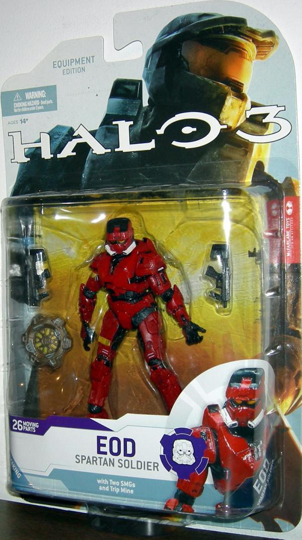 Spartan Soldier EOD red