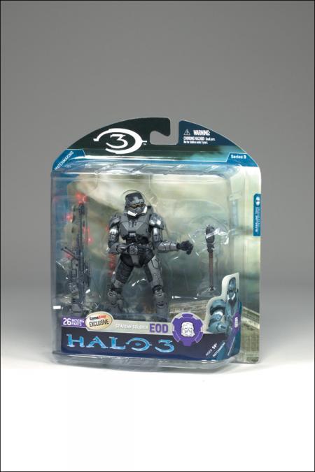 Steel Spartan Soldier EOD Halo 3, series 3
