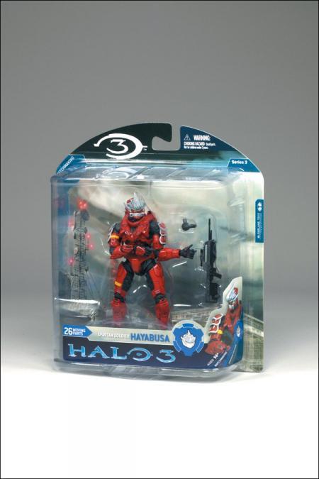 Spartan Soldier Hayabusa red