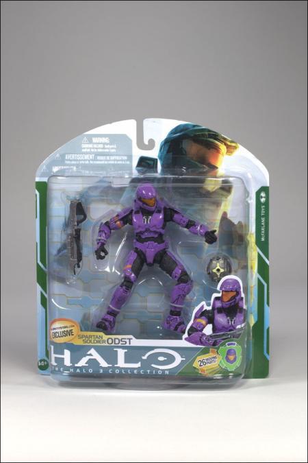 Spartan Soldier ODST violet