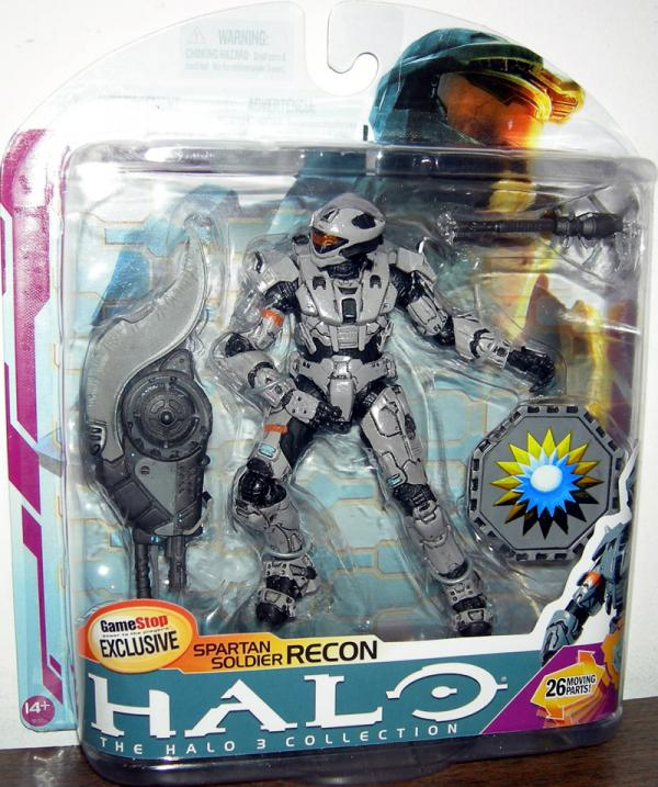 Spartan Soldier Recon Halo 3, series 6, medal edition