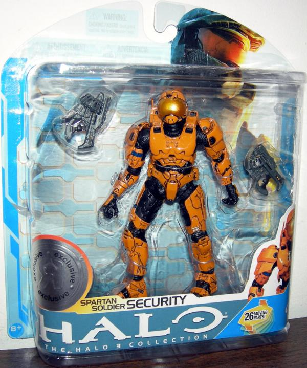 Spartan Soldier Security orange