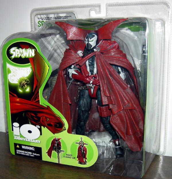 Spawn 10th Anniversary action figure