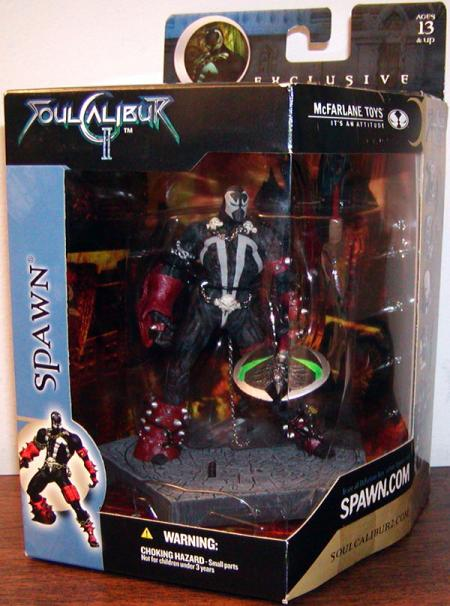 Spawn Soul Calibur II, masked