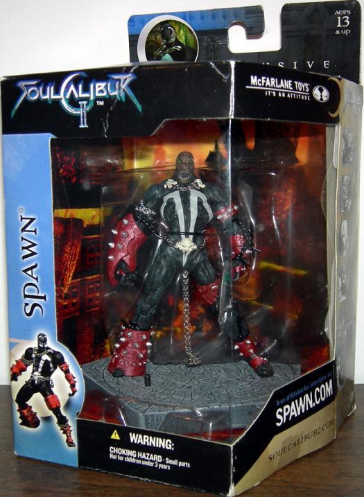 Spawn Soul Calibur II, unmasked
