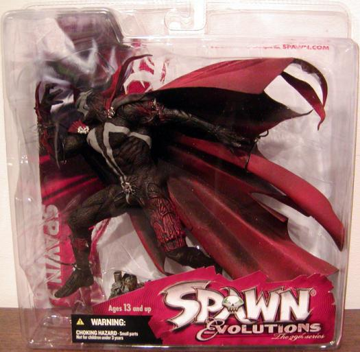 Spawn 9 Series 29 Evolutions action figure