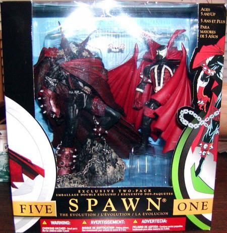 Spawn 1 V 2-Pack
