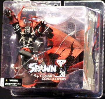 Spawn i043 issue 43 Action Figure Series 24 Classic Comic Covers