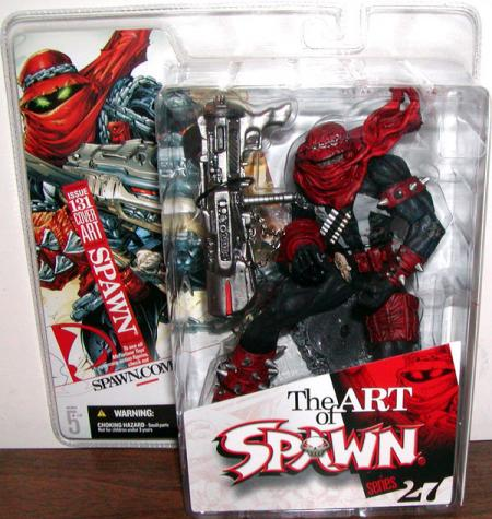 Spawn i131 issue 131 Figure Series 27 Cover Art
