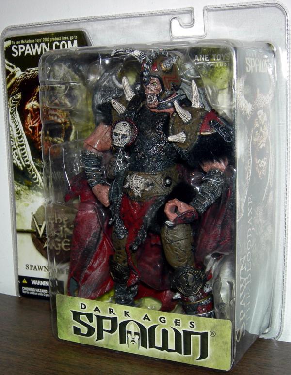Spawn Bloodaxe Series 22 Viking Dark Ages action figure