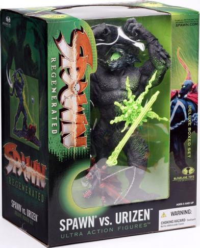 Spawn vs Urizen deluxe boxed set