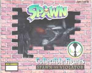 Spawn vs Violator pewter pvc