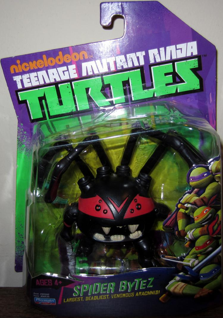 Spider Bytez Nickelodeon Teenage Mutant Ninja Turtles action figure