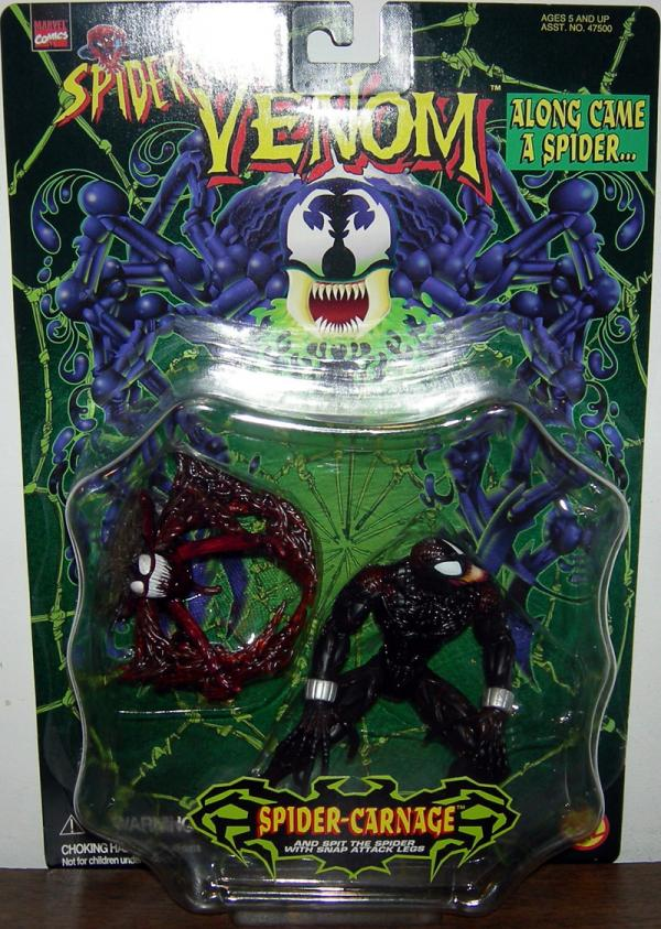 Spider-Carnage Spider-Man Venom Along Came Spider action figure