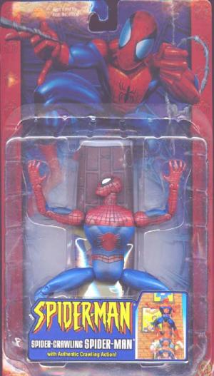 Spider-Crawling Spider-Man Classic action figure