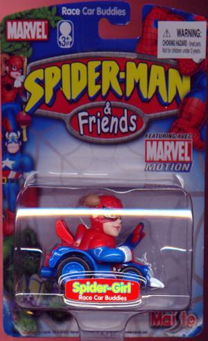 Spider-Girl Race Car Buddy