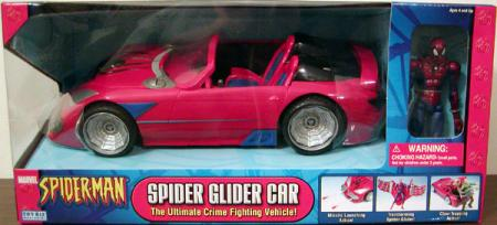 Spider Glider Car Classic, red