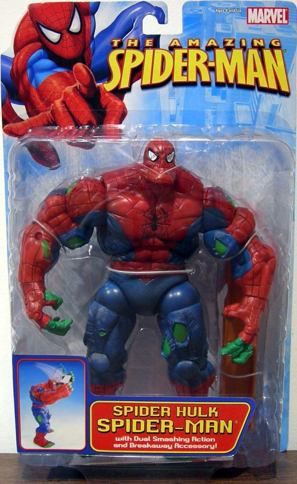 Spider Hulk Spider-Man Action Figure Toy Biz