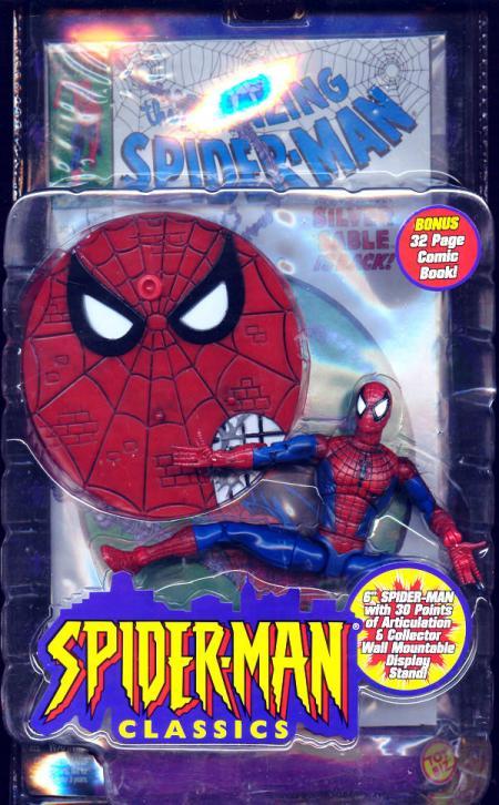 Spider-Man Action Figure Classics Toy Biz