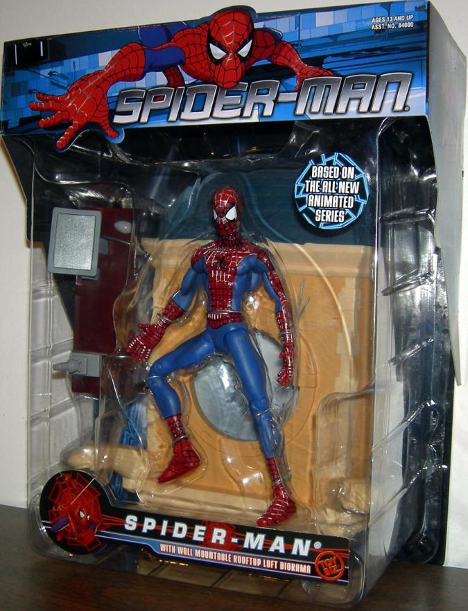 Spider-Man Figure MTV Animated Series