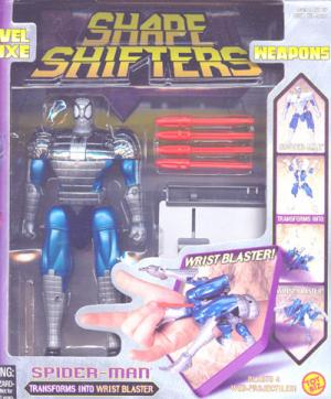 Spider-Man Shape Shifters, boxed