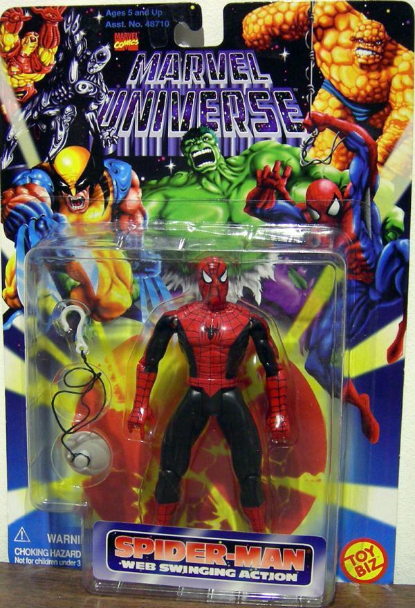 Spider-Man Web Swinging Marvel Universe Action Figure