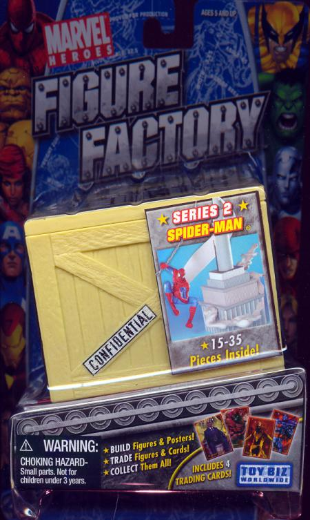 Spider-Man Figure Factory, series 2
