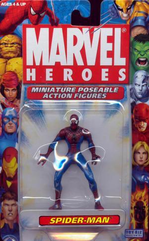Spider-Man Marvel Heroes Miniature Poseable Action Figure