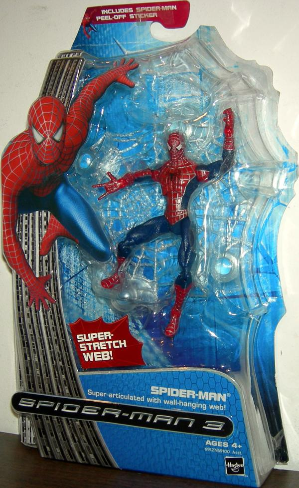 Spider-Man 3 Super-Articulated Wall-Hanging Web Figure