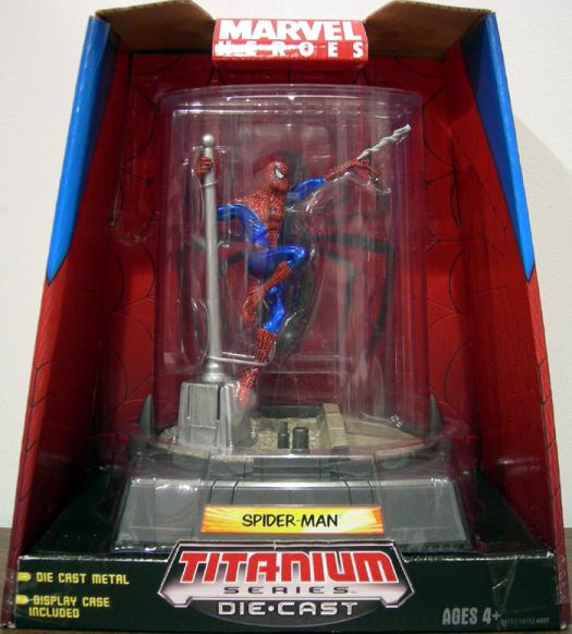 Spider-Man Titanium Series Die-Cast