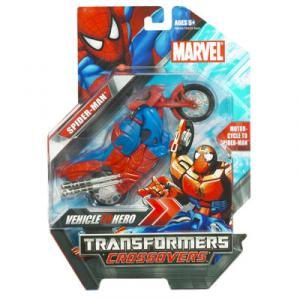 Spider-Man Transformers Crossovers Action Figure Hasbro