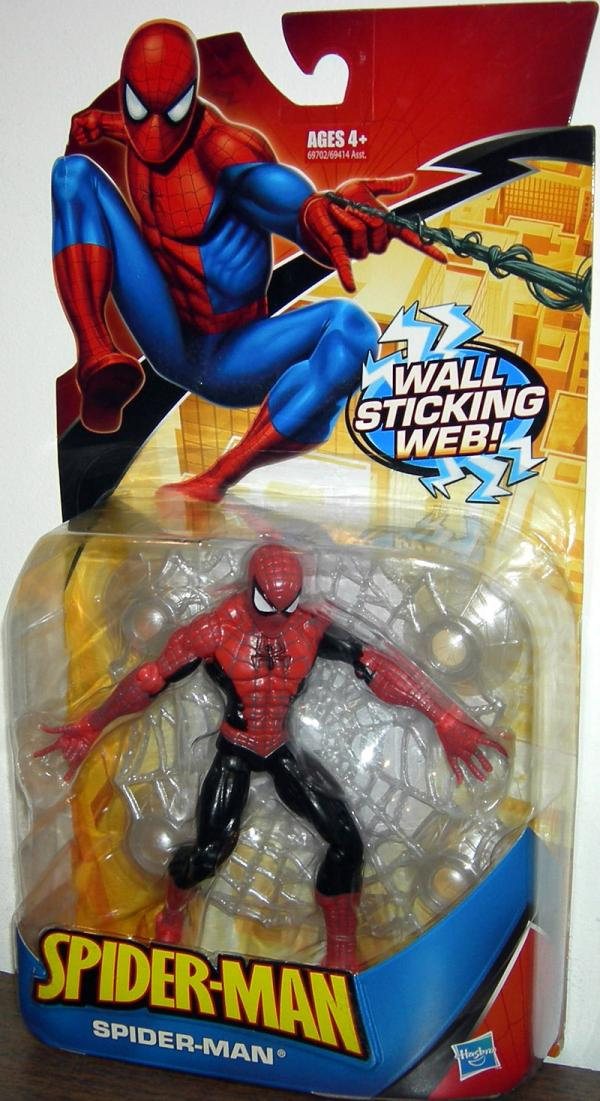 Spider-Man wall sticking web, repaint
