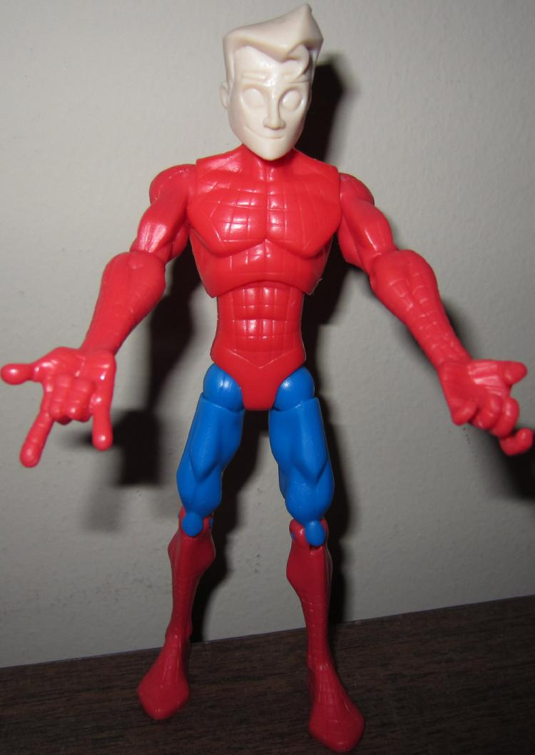 Spider-Man Zipline Backpack Prototype Figure Spectacular Animated Series
