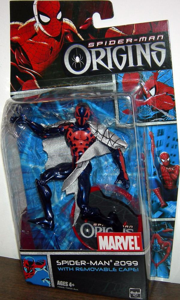 Spider-Man 2099 Figure Removable Cape Origins