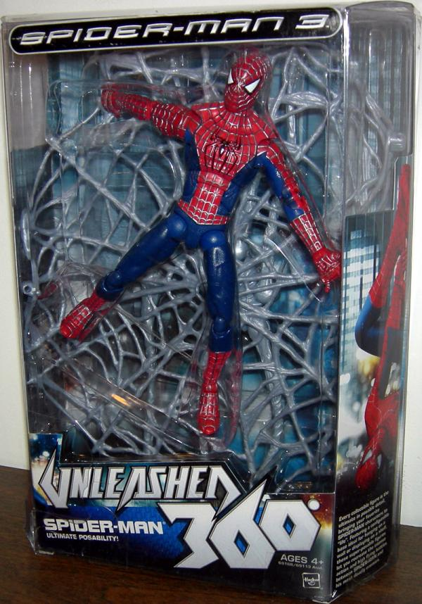 Spider-Man 3 Unleashed 360 Figure 8 Inch Hasbro