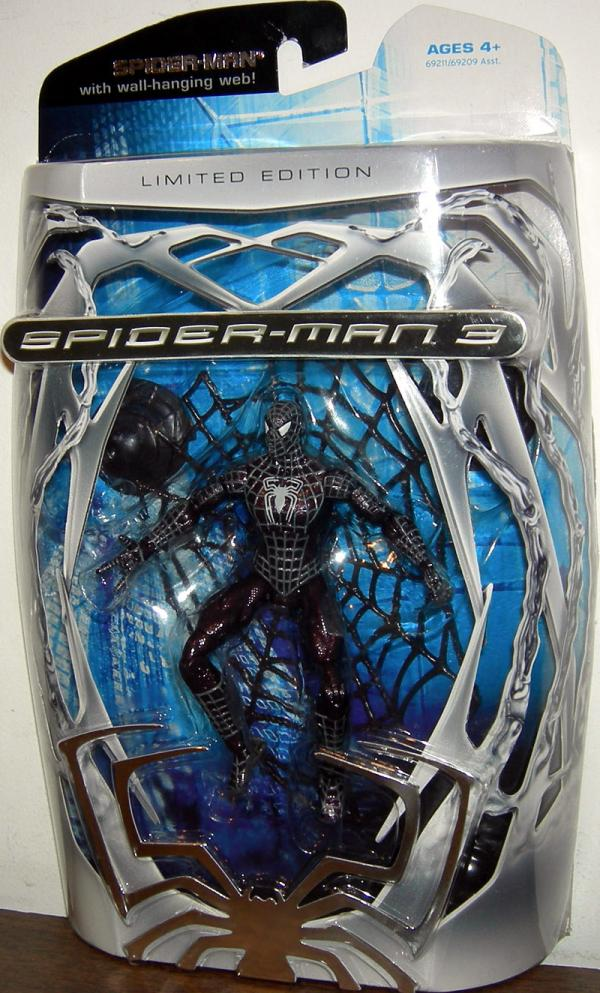 Spider-Man 3 Wall-hanging Web Limited Edition action figure