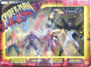 Spider-Man 4-Pack Figures Canadian Exclusive