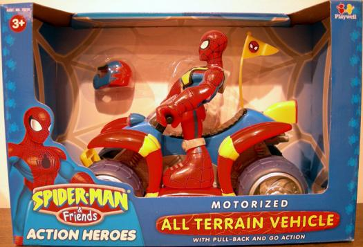 Motorized All Terrain Vehicle Spider-Man Friends