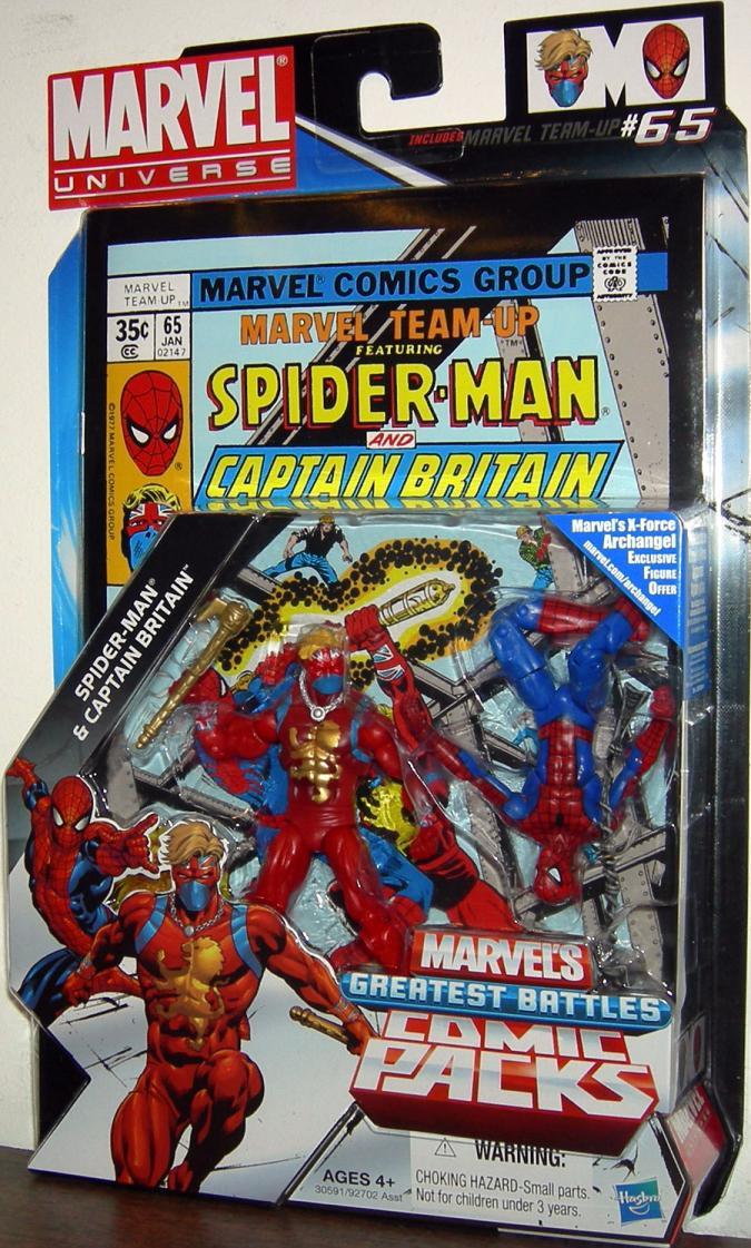 Spider-Man Captain Britain Comic Packs, 65