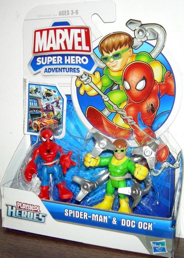 Spider-Man Doc Ock Playskool Heroes, Super Hero Adventures