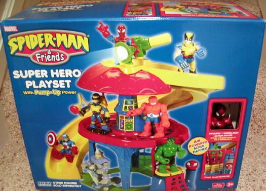 Spider-Man Friends Super Hero Playset