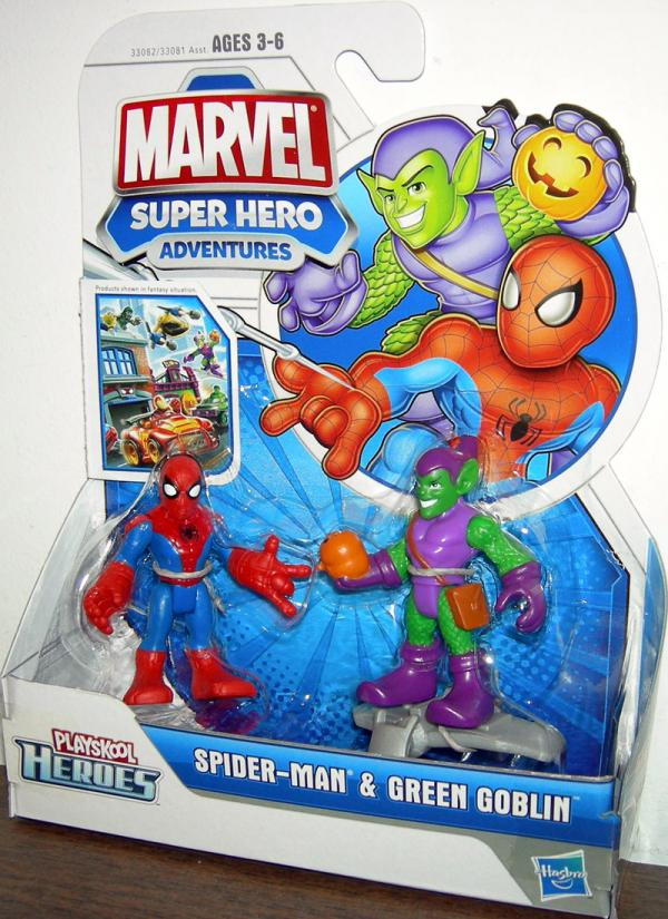 Spider-Man Green Goblin Playskool Heroes