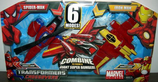 Spider-Man Iron Man Transformers Crossovers