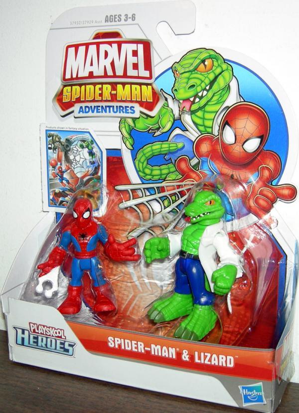 Spider-Man Lizard Playskool Heroes