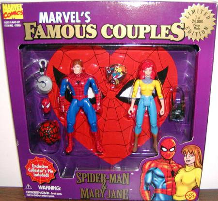 Spider-Man Mary Jane 2-Pack Famous Couples