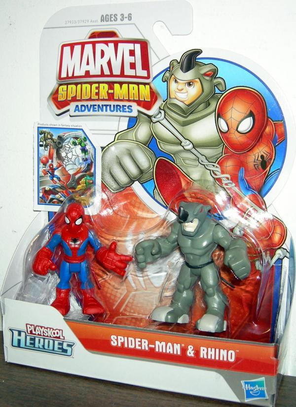 Spider-Man Rhino Playskool Heroes