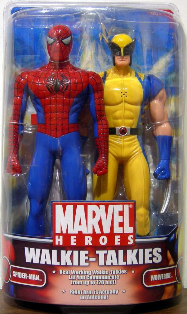 Spider-Man Wolverine Walkie-Talkies