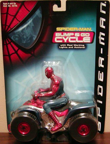 Spider-Man Bump Go ATV movie