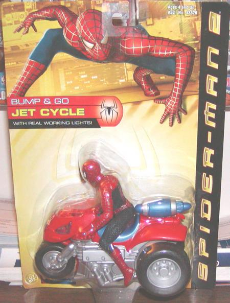 Spider-Man 2 Bump Go Jet Cycle